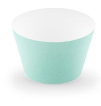 6 Contours à Cup Cake Vert Pastel Mint Menthe
