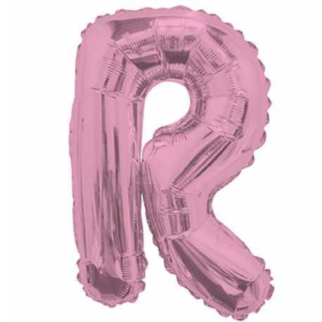 Ballon 36cm R Alu Lettre Rose Fushia Mylar