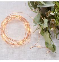 Confettis ronds Rose Gold Cuivré - Hello World  Baby Shower
