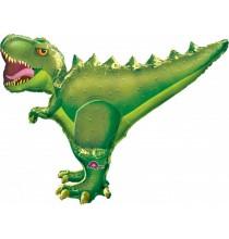 Ballon XXL Alu Dinosaure Tyrannosaure Anniversaire pour Enfant