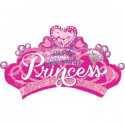 Ballon Disney Coeur Anniversaire Princesses
