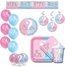 Pack Organisation Baby Shower Fille ou Garçon?
