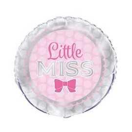 Ballon Hélium Baby Shower Little Miss