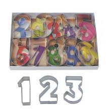Kit Premium - Emporte-Pièces Biscuit Chiffres 0 à 9