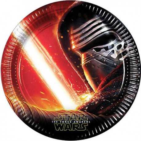 Grandes Assiettes Star Wars - Guerre des étoiles