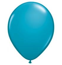 100 Mini Ballons Latex Bleu Turquoise Fête - 5 pouces 12cm