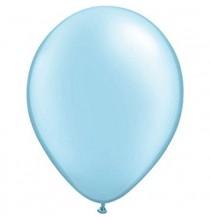 100 Mini Ballons Latex Bleu Clair Fête - 5 pouces 12cm