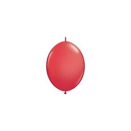 10 Ballons A Queue Pour Arche - Rouge Décoration de fête