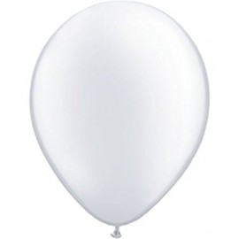 10 Ballons Gonflables Latex Blanc Fête