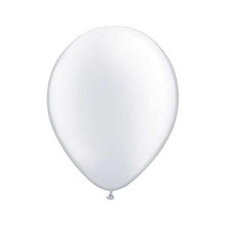 10 Ballons Gonflables Latex Blanc Fête