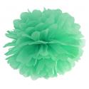 Pompon Papier de Soie 35cm Vert Mint Décoration de Fête