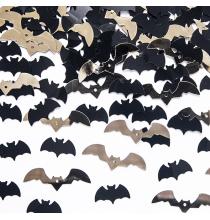 Confettis de table Halloween - Araignées noires