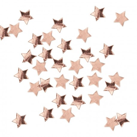 Confettis Etoiles Rose Gold - Rose Cuivré