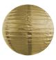 Boule Lanterne de Papier Or Doré Lanterne 25 cm
