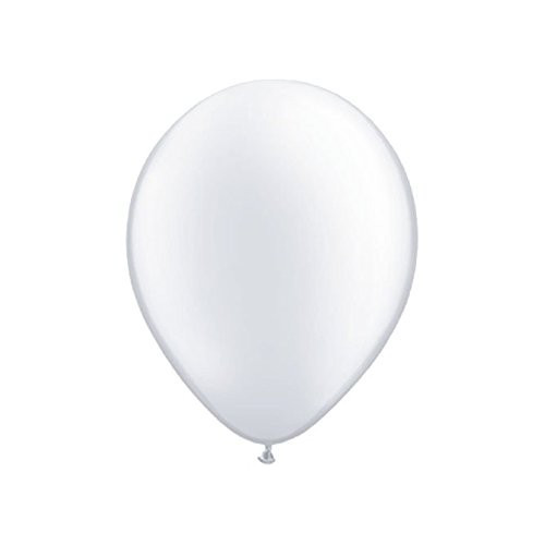 6 Ballons Gonflables Latex Blanc Fête