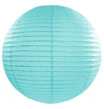Boule de Papier Bleu Tiffany Lanterne 20 cm