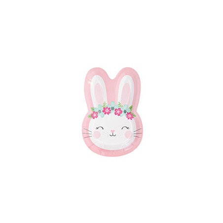 Lapin Girly Rose et Mint - Birthday Party 2 ans