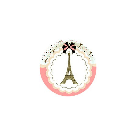 Paris Party Girl Anniversaire Fille