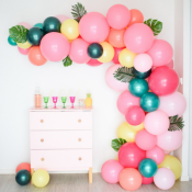 Baby Shower Tropicale - Flamant Rose Baby Shower Fille