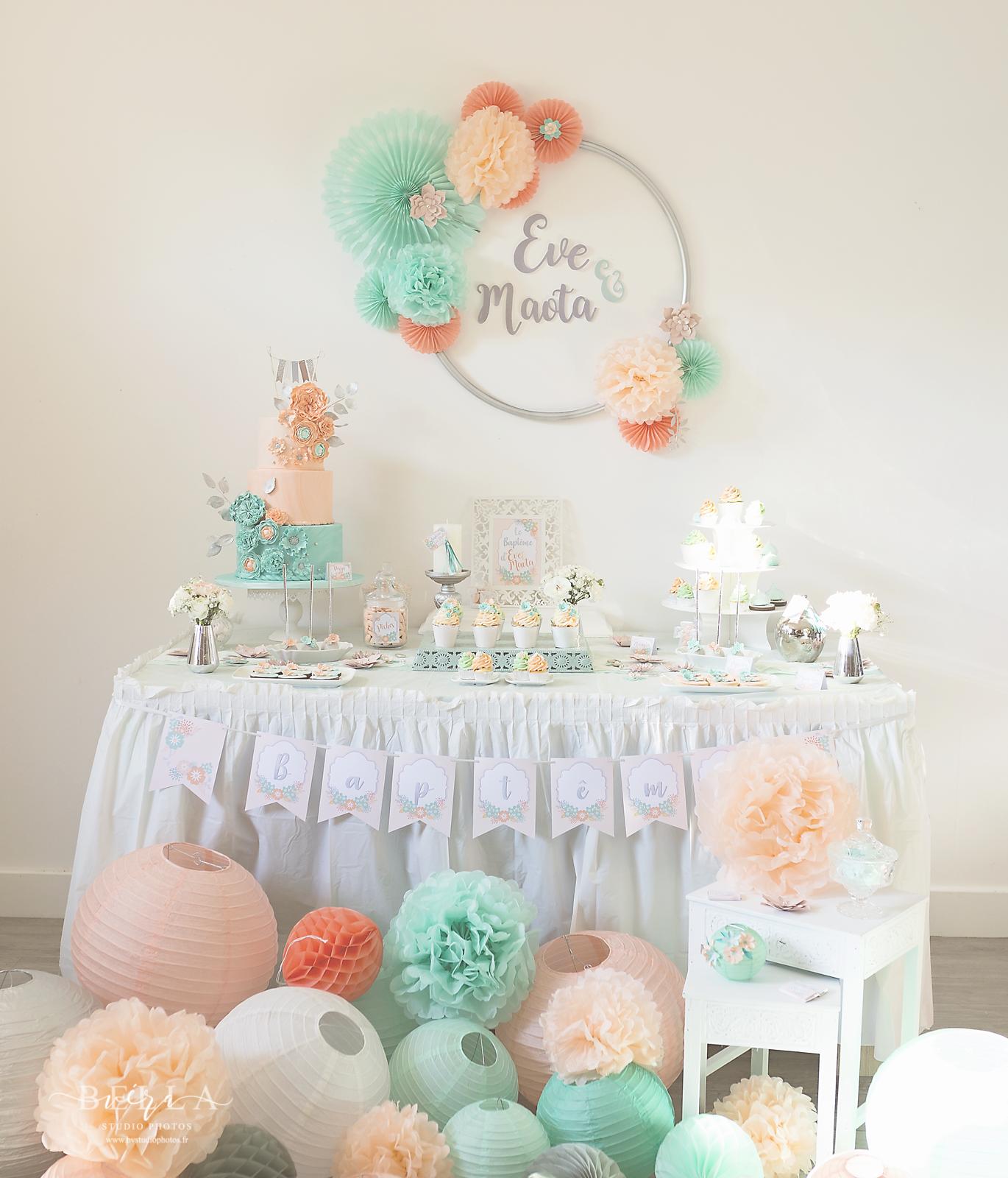 Decorations De Table Pour Un Bapteme