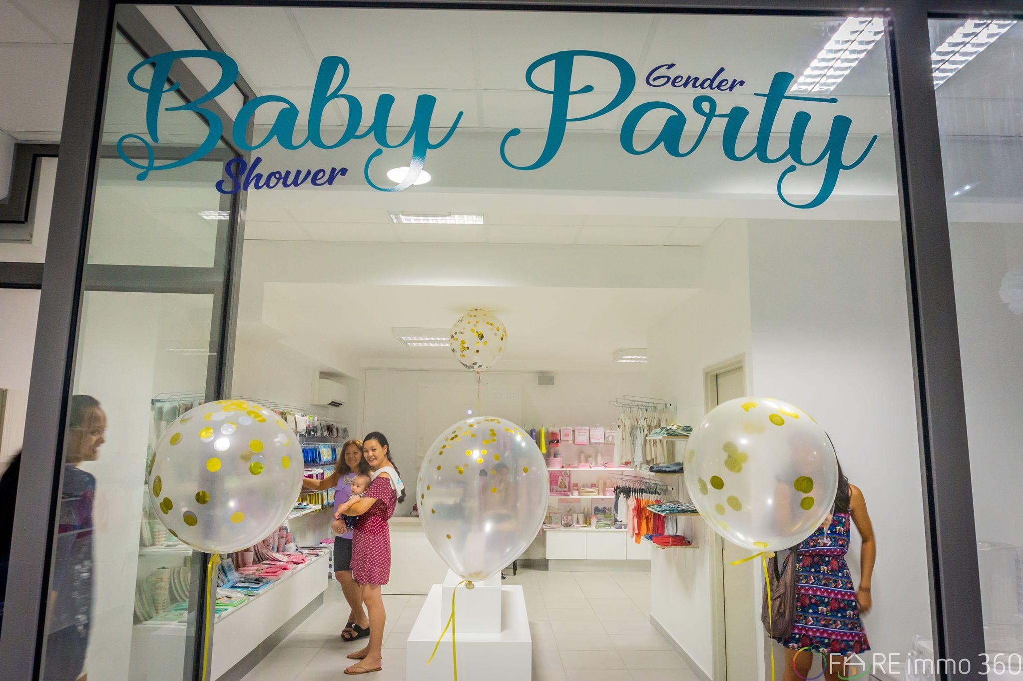 La boutique propose à ses clients un large choix d articles pour organiser  une baby shower party et même des anniversaires pour enfants. 91d099589a3