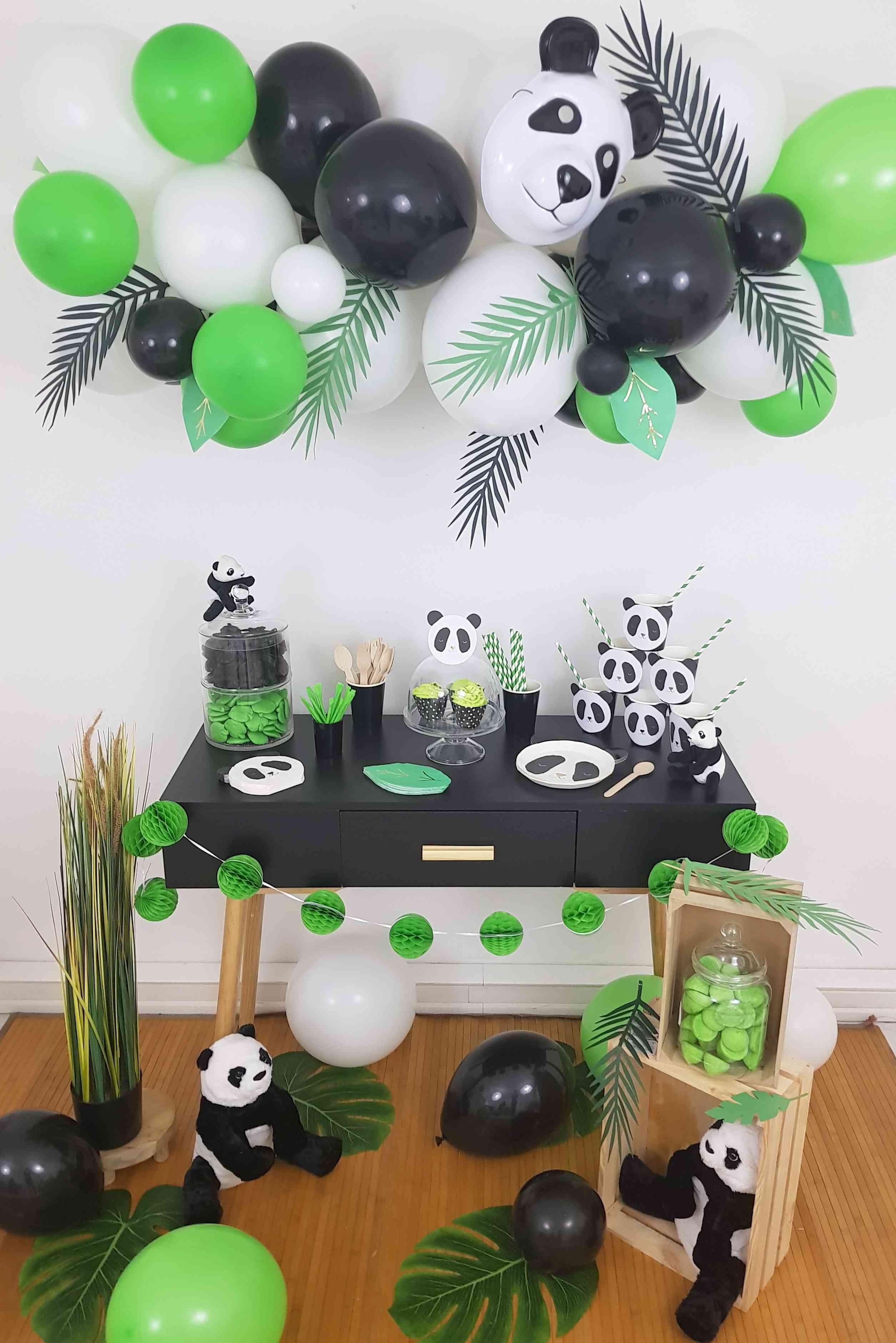 Decorations Anniversaire Sweet Table Theme Panda